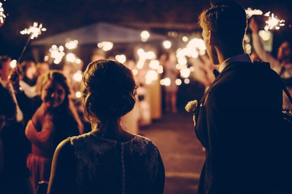 Imagini de la petrecerea de nunta