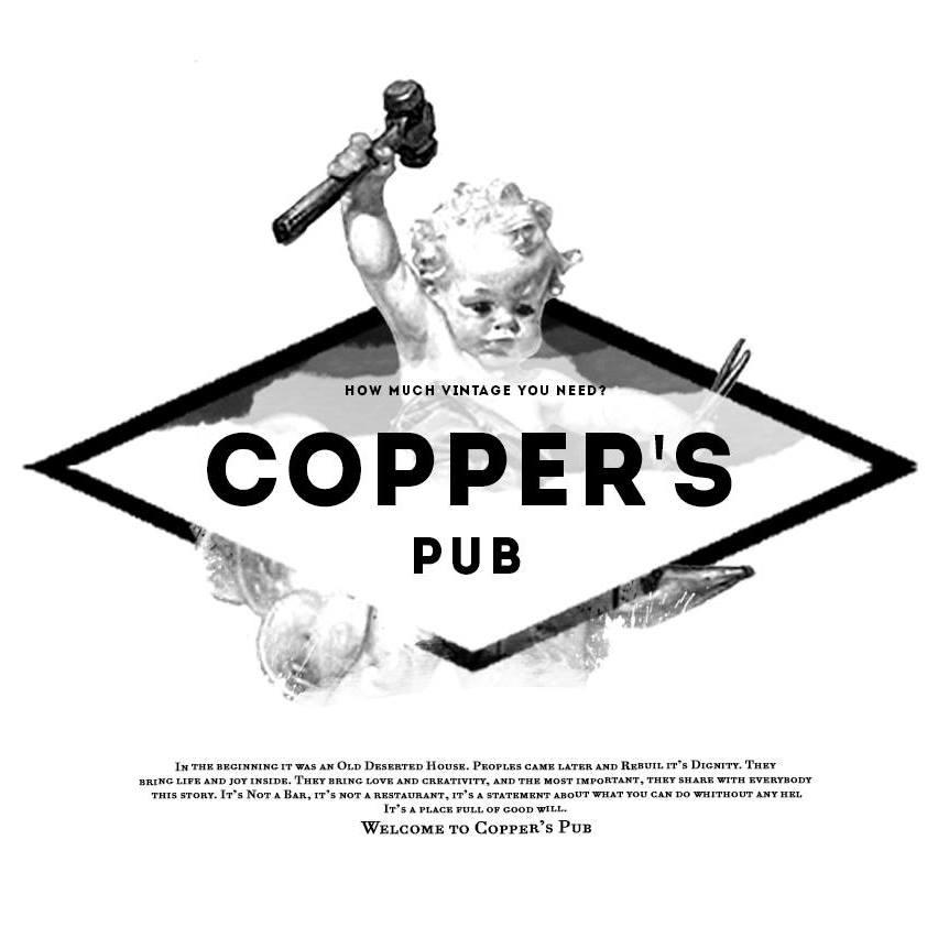 Logo Coppers Pub Theatre Bucuresti