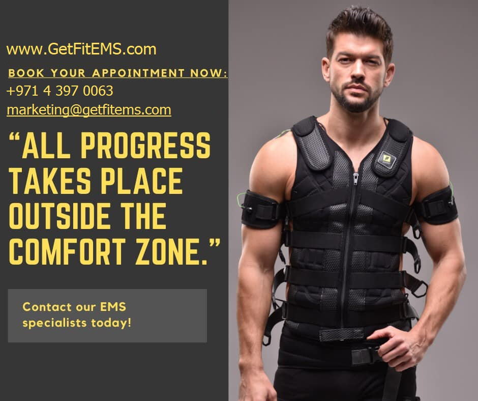 Get Fit EMS Fitness Gym Dubai