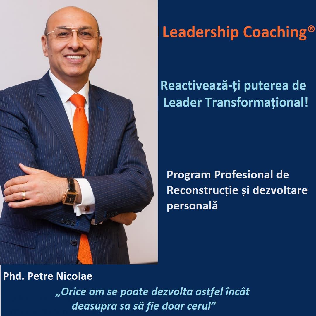 petre nicolae despre ce este leadership coaching