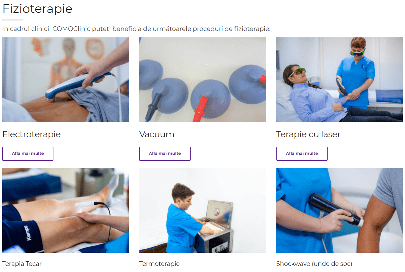 fizioterapie si kinetoterapie
